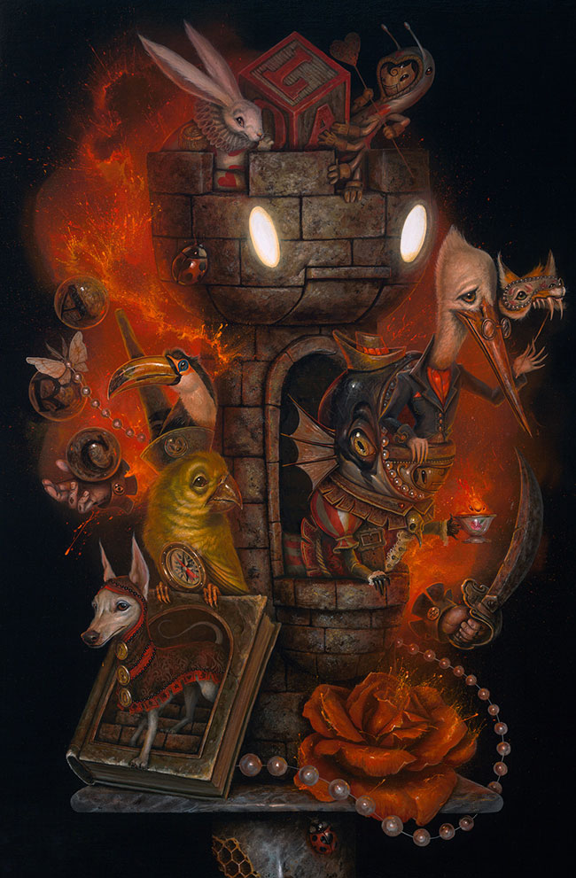 Greg Craola Simkins - The Castle Meeting