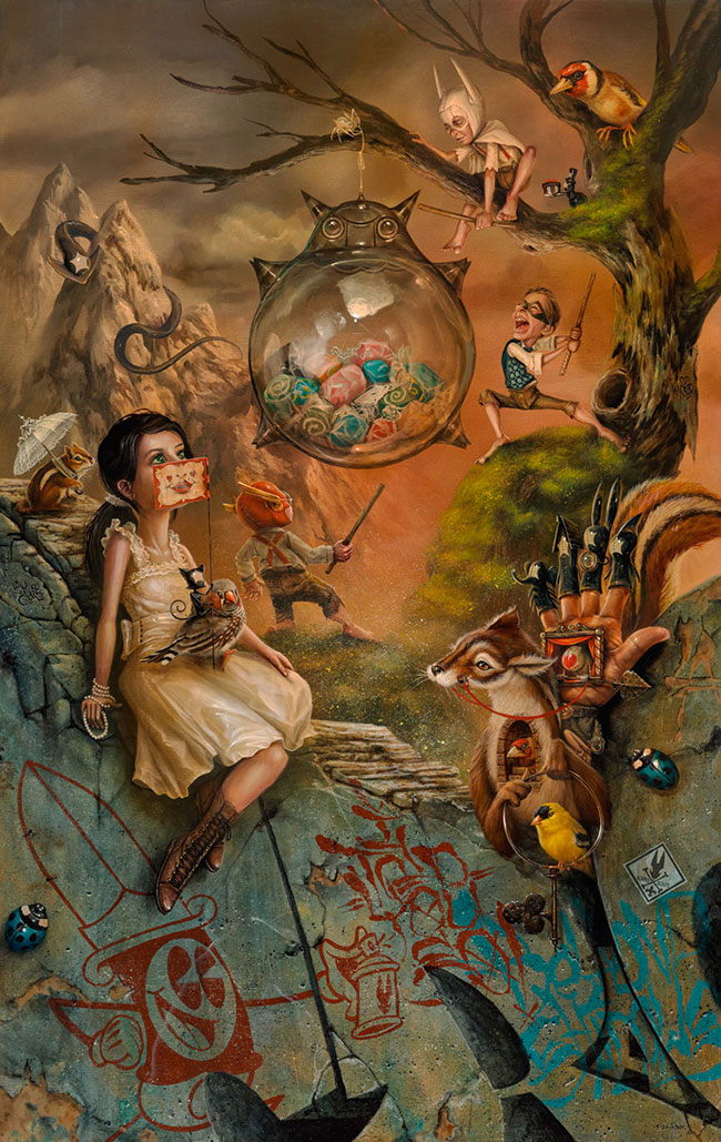 Greg Craola Simkins - The Glass Pinata