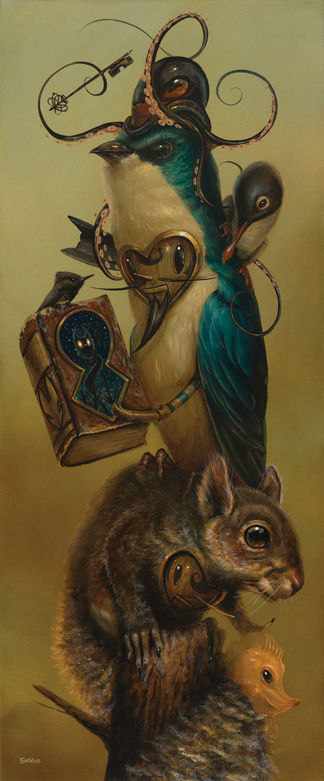 Greg Craola Simkins - The Librarian