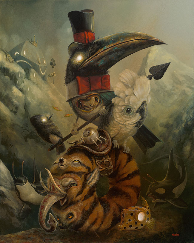 Greg Craola Simkins - The Wanderers