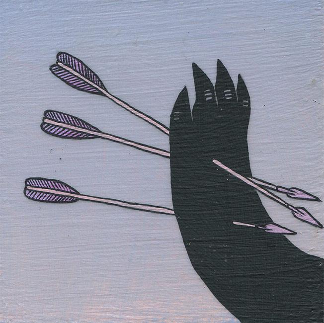 Deth P. Sun - Arrows through Arm