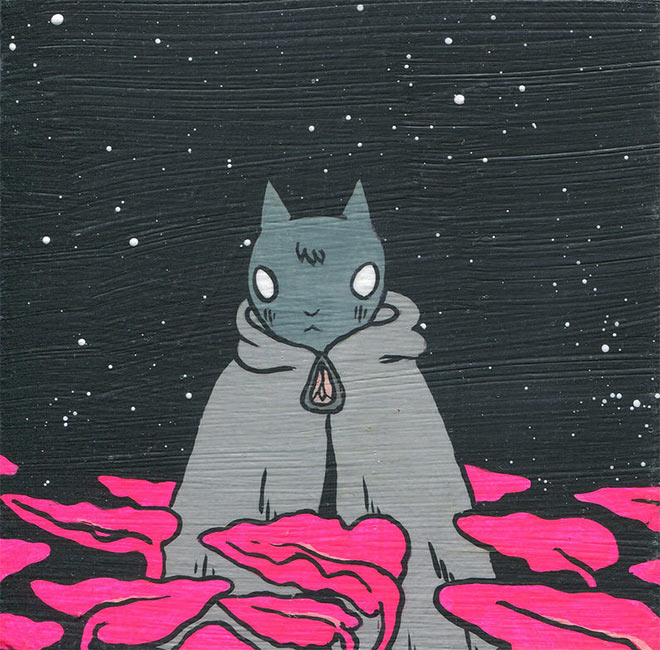Deth P. Sun - Caped Cat