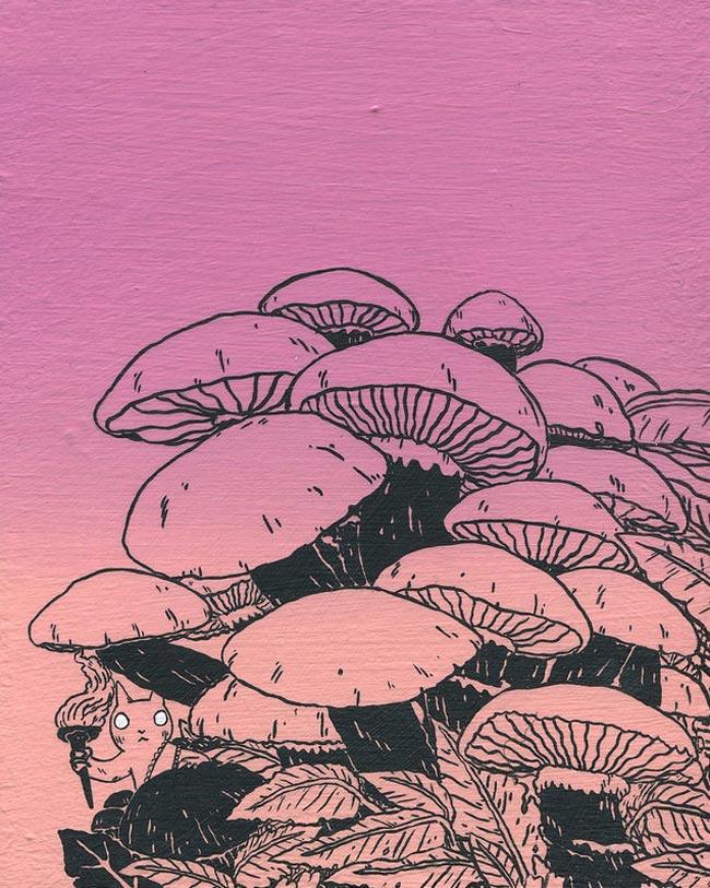 Deth P. Sun - Mushroom Pile