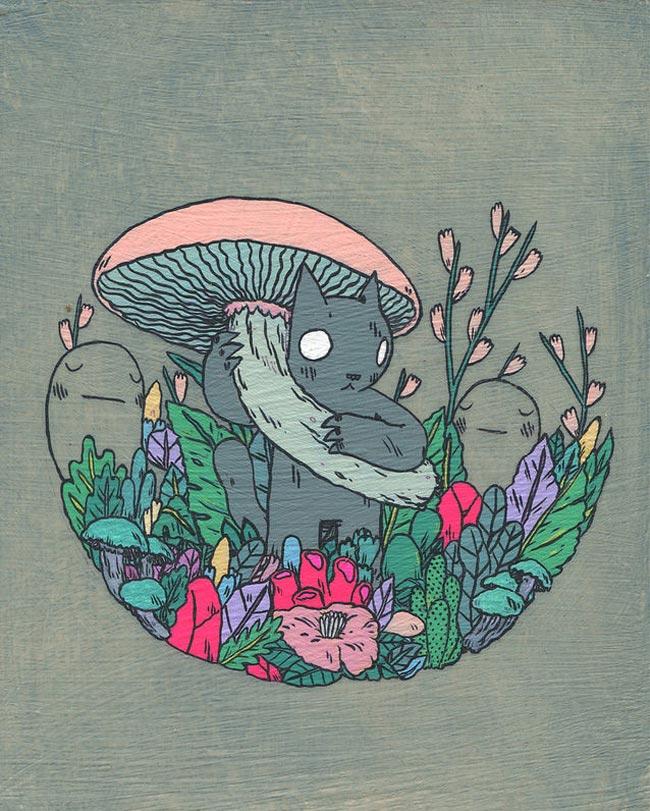 Deth P. Sun - Mushroom