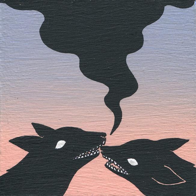 Deth P. Sun - Two Wolves