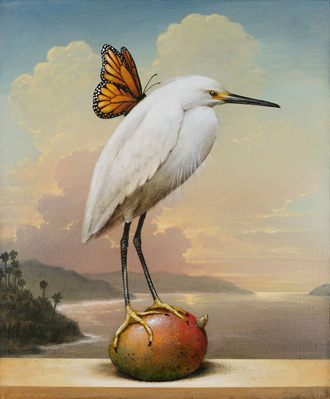 Kevin Sloan - Angel with Mango