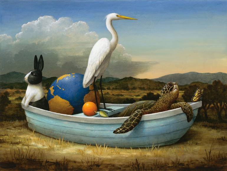 Kevin Sloan – The End of the Street – Artist Interview