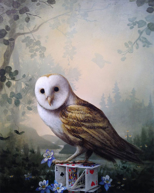 Kevin Sloan - The Young Owl
