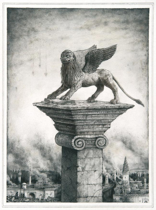 Sverre Malling - Lion of Saint Mark