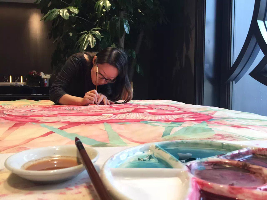 Alice Lin - Artist at Work 1