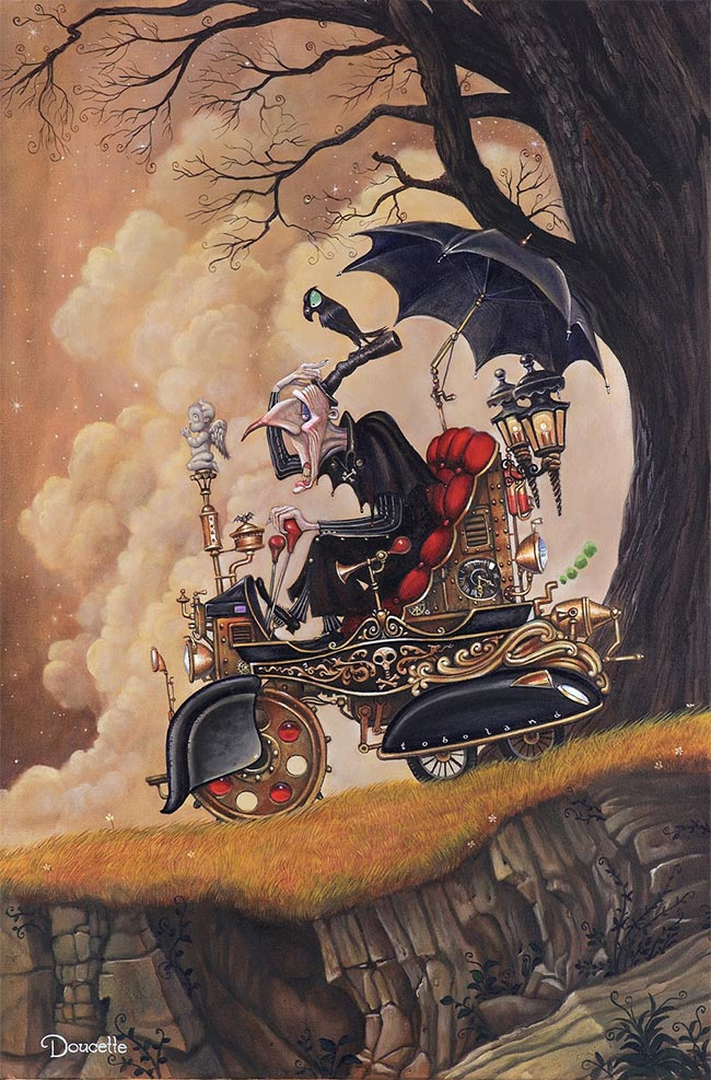 Bob Doucette - Death takes a Holiday