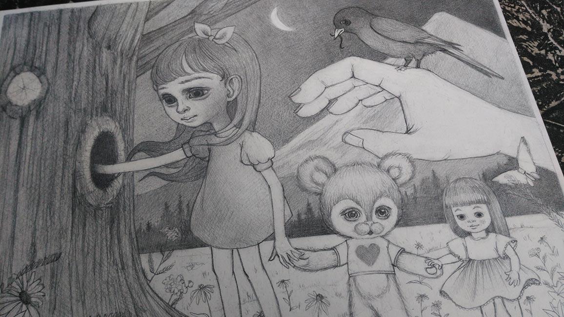 Ana Bagayan - Drawing