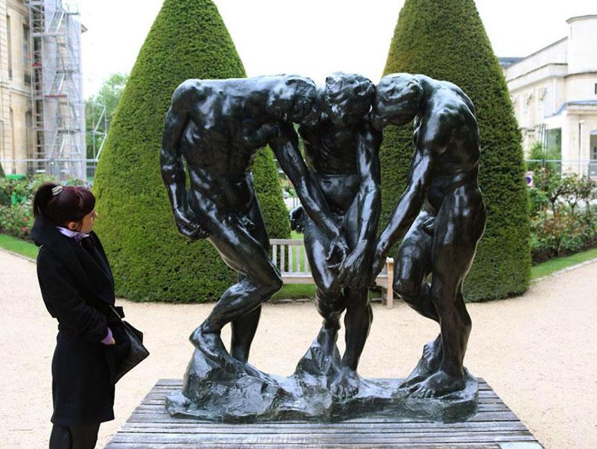 Ewelina Koszykowska - The Three Shades by Rodin