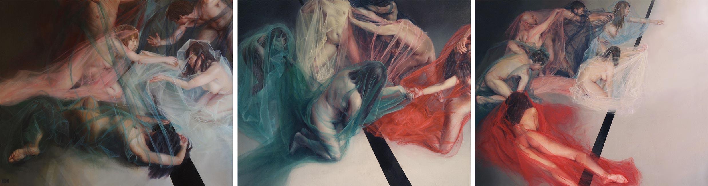 Ewelina Koszykowska - We Are Lost (Triptych)
