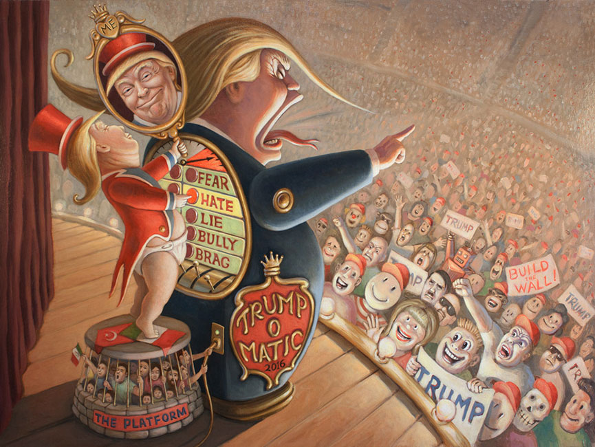 Mark Bryan - Trump-o-Matic