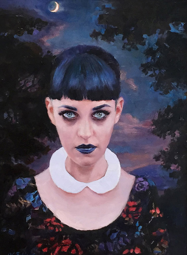 Natalia Fabia - Moon Witch (Portrait of Caro)