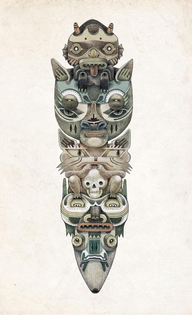 Raymond Lemstra - Totem