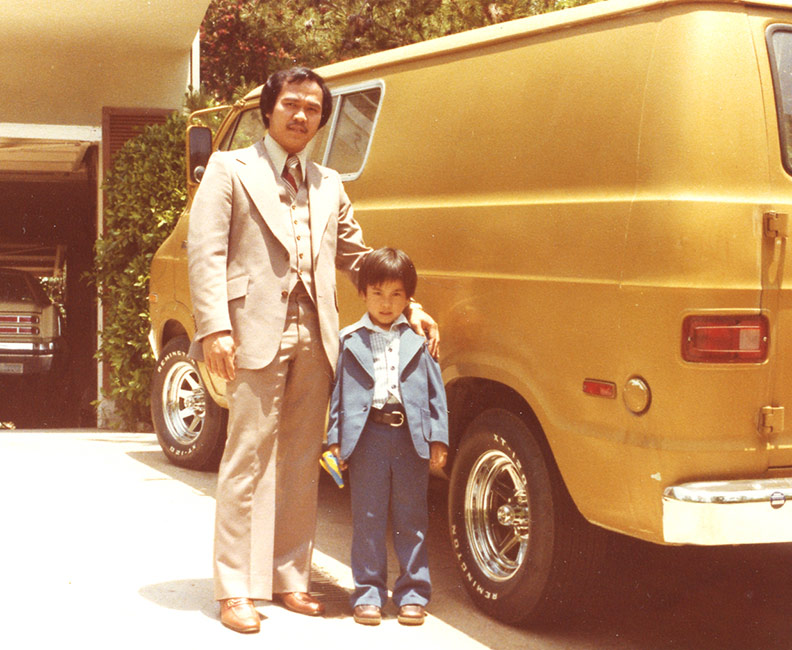 Roland Tamayo - Roland and His Dad