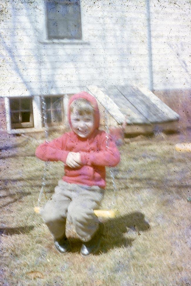 Danny Malboeuf - Artist as a Boy