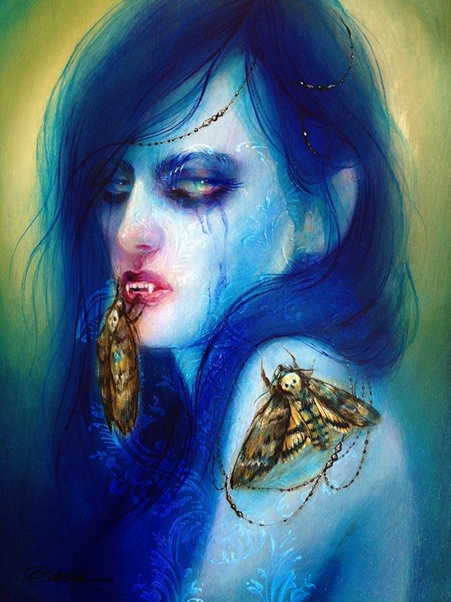 Lara Dann - Blue Vampire