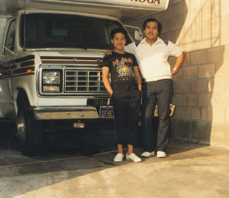 Roland Tamayo - Roland and His Dad 2