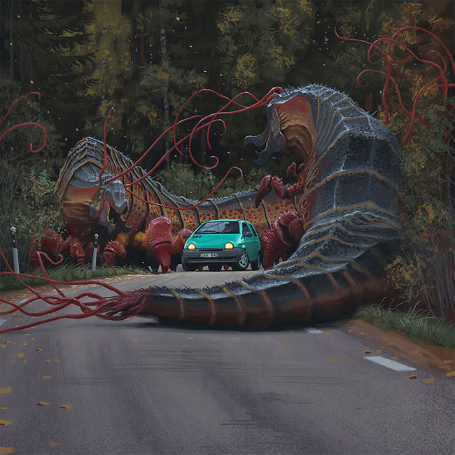 Simon Stalenhag - Invasive