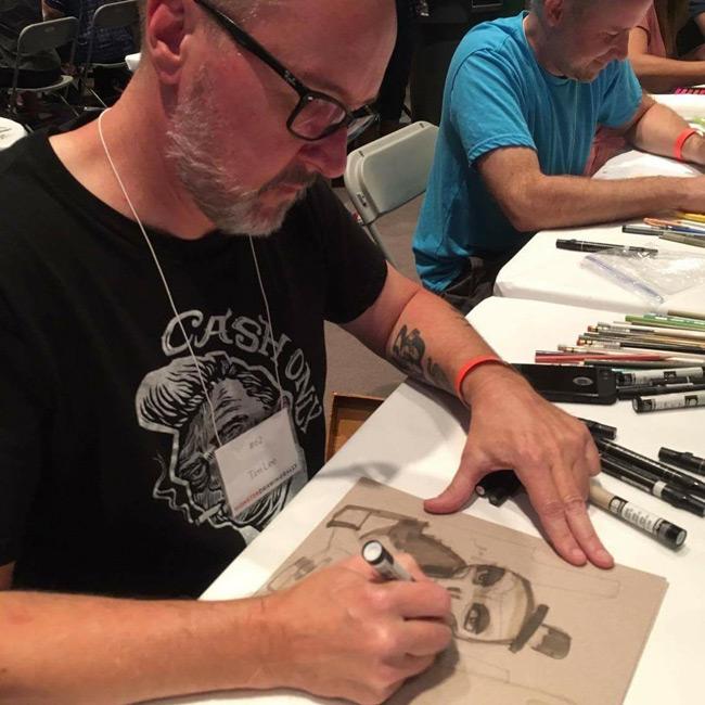 Tim Lee - Monster Drawing Rally
