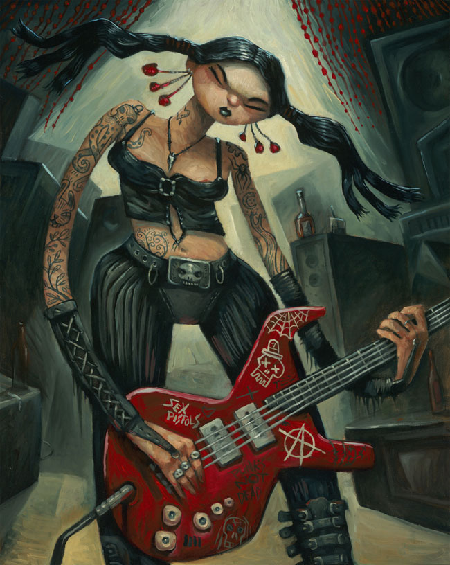 Tim Lee - Punk Rock Girl