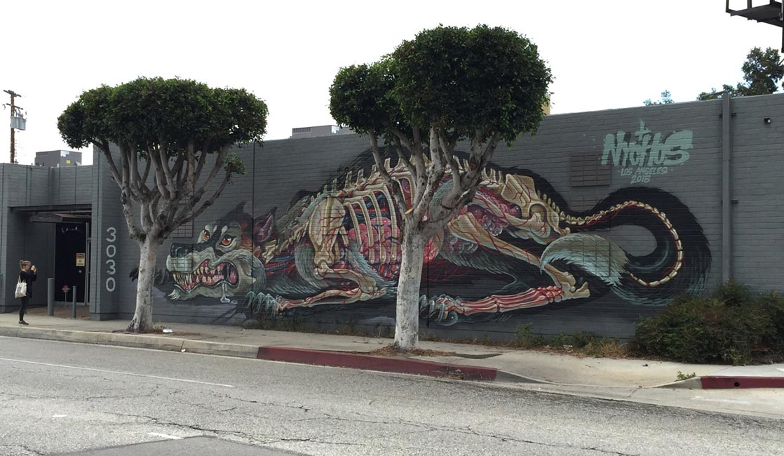 Nychos - Transluscent Wolf of Culver City