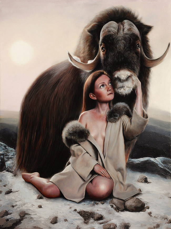 Richard J. Oliver - In Reverence of the Wild (Muskox)