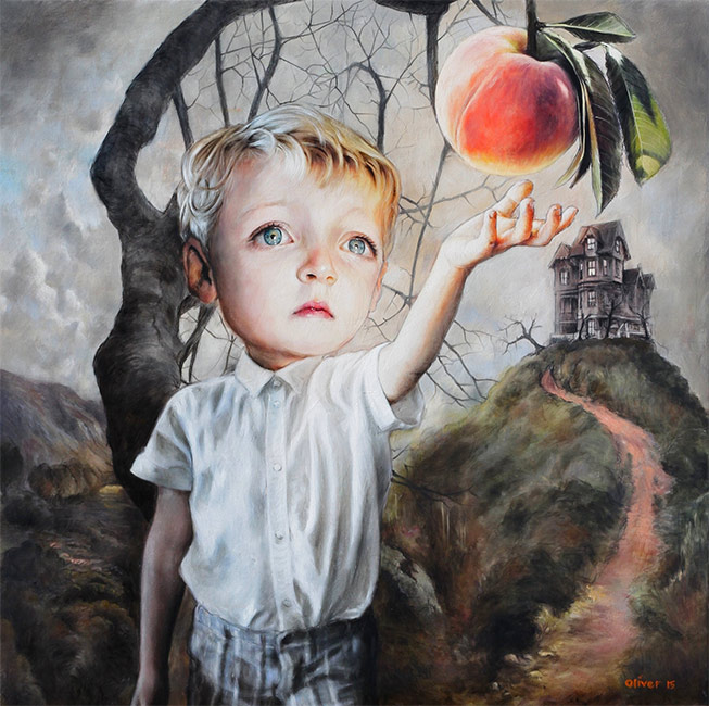 Richard J. Oliver - James and the Giant Peach