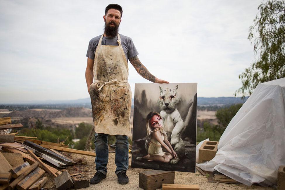 Richard J. Oliver - The Artist