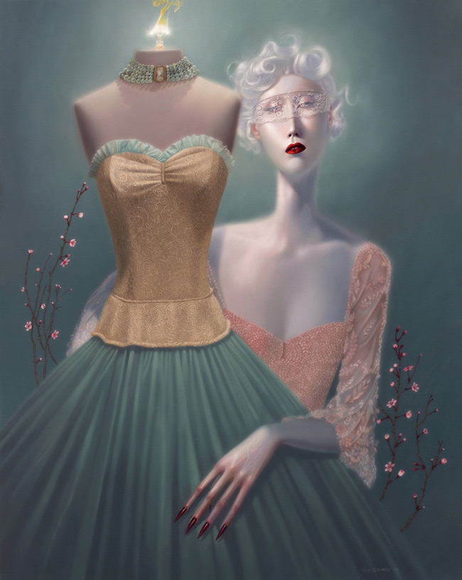 Troy Brooks / Gallery House & Corey Helford Gallery - Appleseed Bride
