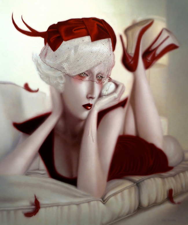 Troy Brooks / Gallery House & Corey Helford Gallery - Between the Boys and the Bees