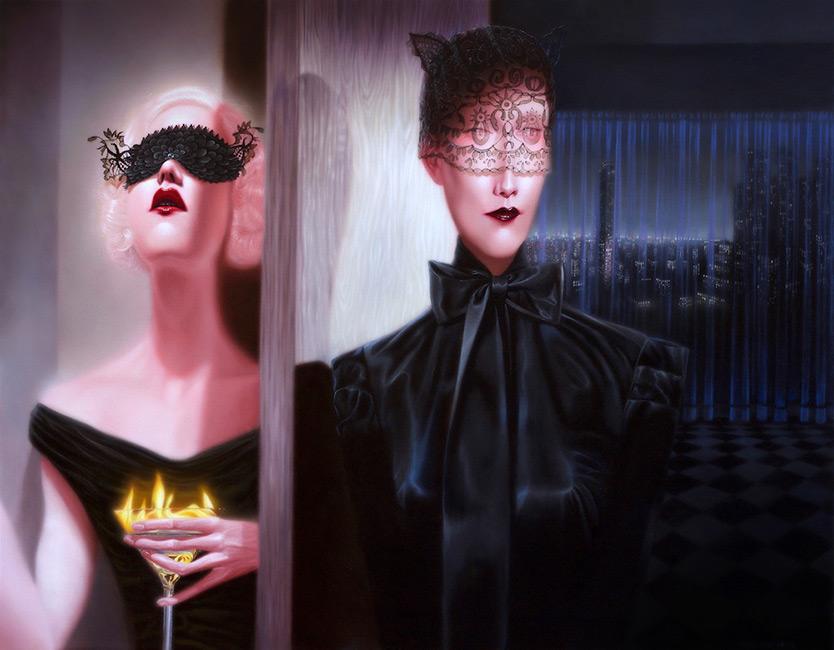 Troy Brooks / Gallery House & Corey Helford Gallery - Persona