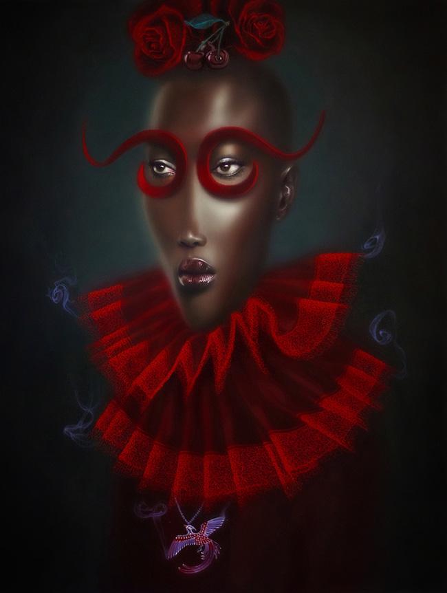 Troy Brooks / Gallery House & Corey Helford Gallery - Sakura