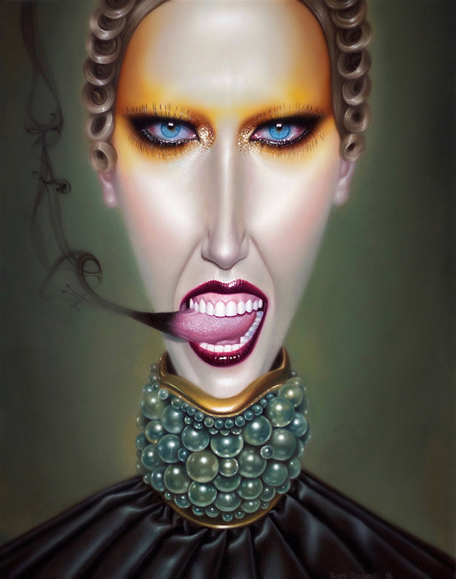 Troy Brooks / Gallery House & Corey Helford Gallery - Stereochrome