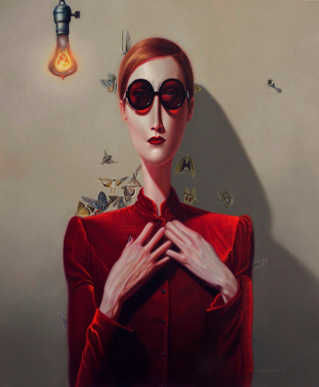 Troy Brooks / Gallery House & Corey Helford Gallery - Still-Life