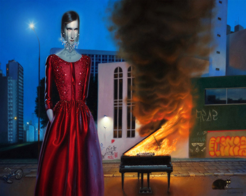 Troy Brooks / Gallery House & Corey Helford Gallery - The Howling