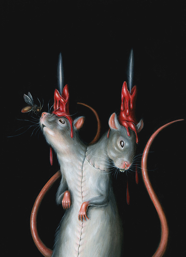 Hanna Jaeun - Portrait of a Rat