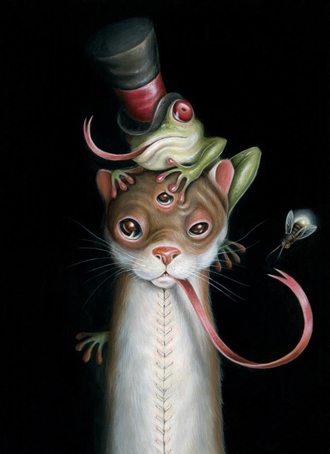 Hanna Jaeun - Portrait of a Weasel