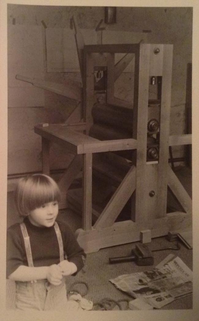 Jean 'Turf One' Labourdette - Artist as a Boy in Father's Studio