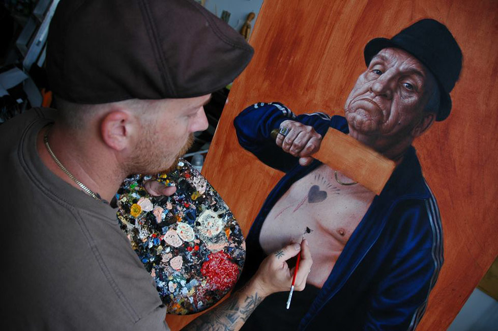 Jean Labourdette - Artist at Work
