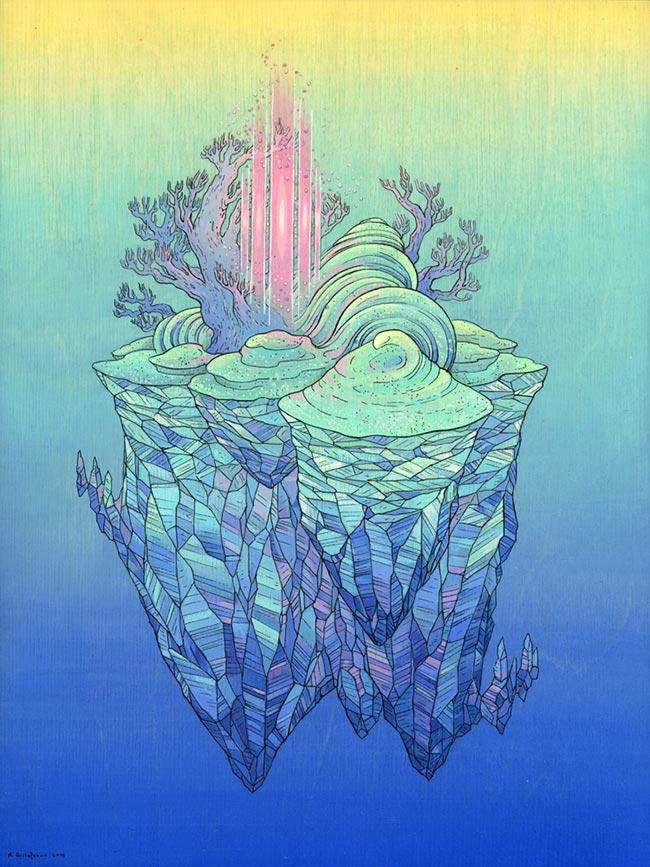 Nicole Gustafsson - Pastel Dreamscape