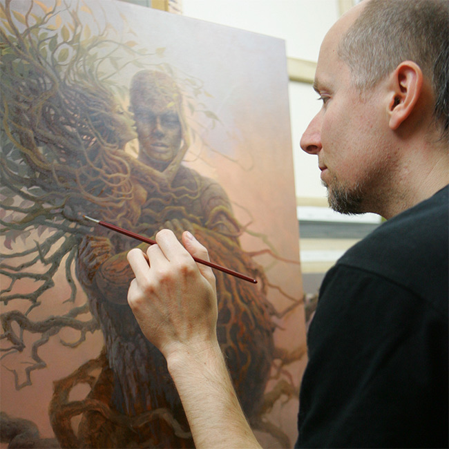 Tomasz Alen Kopera - Artist at Work