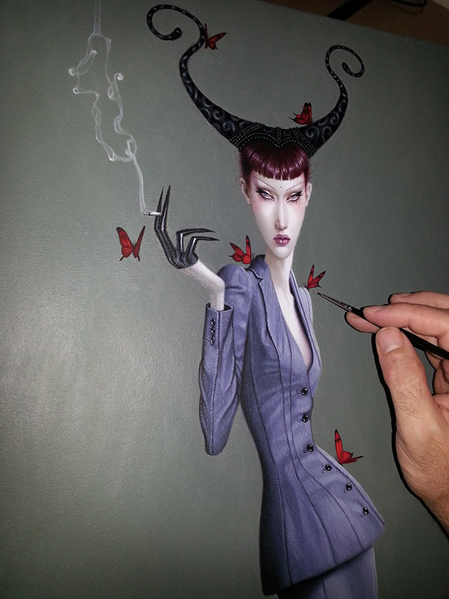 Troy Brooks / Gallery House & Corey Helford Gallery - In Process 1