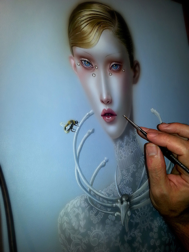 Troy Brooks / Gallery House & Corey Helford Gallery - In Process 3