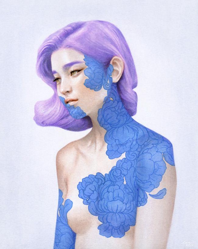 Tran Nguyen - A Lilac Lover