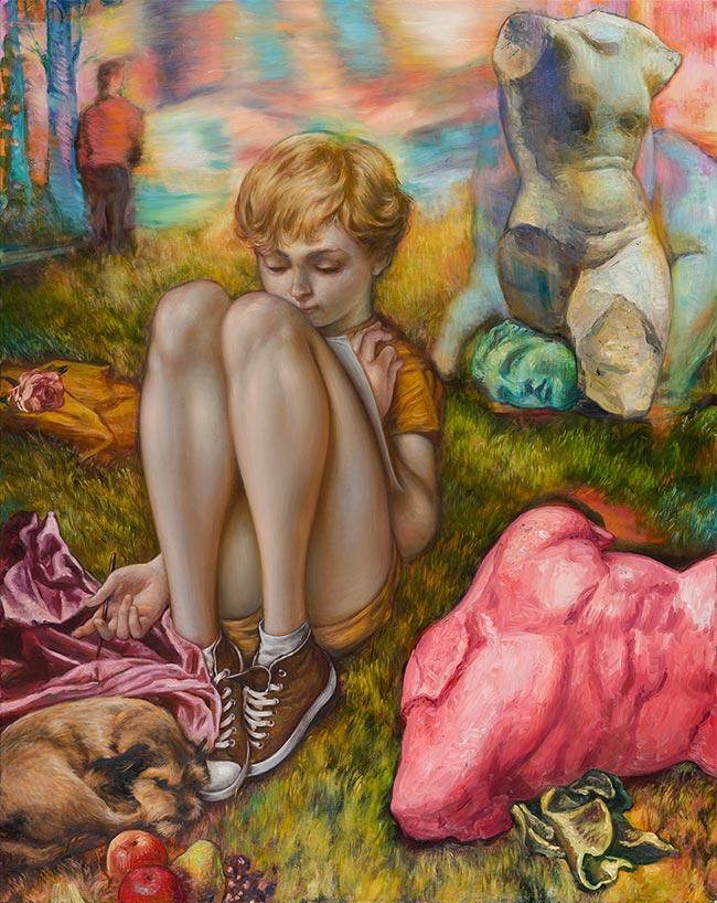 Jamie Adams - Blondie Bubba in the Field