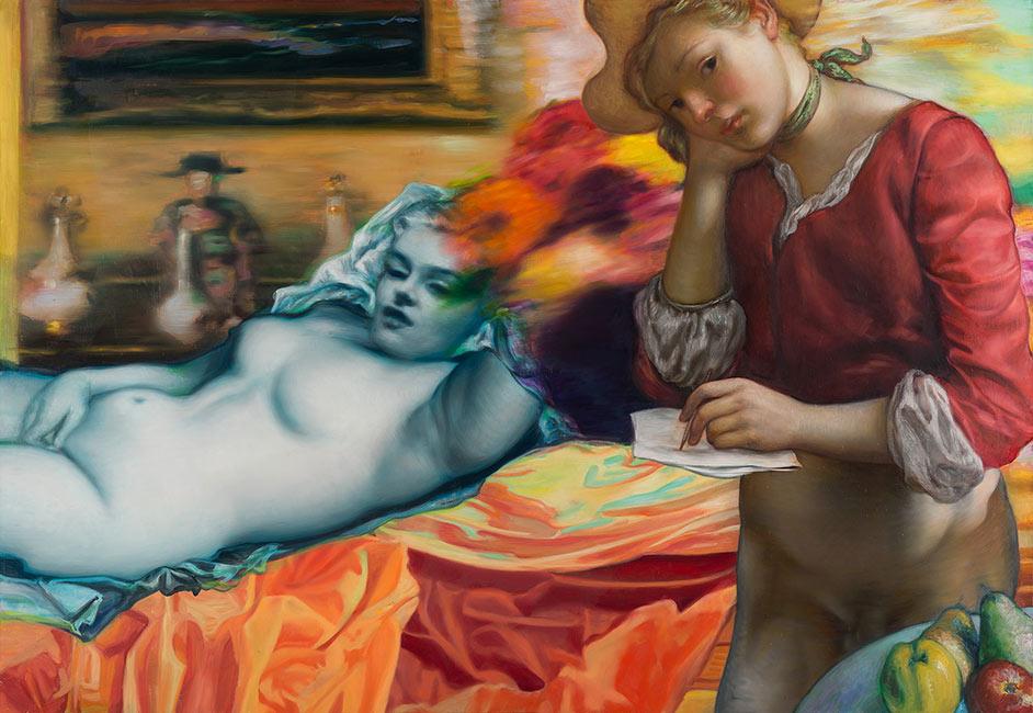 Jamie Adams - Blue Marilyn